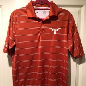 Texas Striped Polo